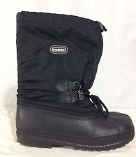 Sorel Black Trooper Boots USA Size 6 UK 5 EUR 24