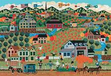 AMERICANA COLLECTION JIGSAW PUZZLE NOAH'S PUMPKIN FARM ANTHONY KLEEM 500 PCS
