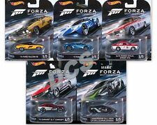 HOT WHEELS ENTERTAINMENT FORZA MOTORSPORT SET OF 5 DMC55-956D IN STOCK