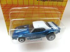 Matchbox Superfast 1d Dodge Challenger - Dark Metallic Blue 'HEMI' - Mint/Carded