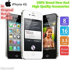 Apple iPhone 4S 16GB 3G A1387 GPS 8MP 1080P 3,5¨ Móvil Celular Smartphone Regalo
