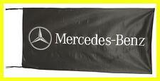 MERCEDES BENZ FLAG BANNER  BLACK g-cass 5 X 2.45 FT 150 X 75 CM