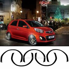Wheel Mask Decal Sticker 3D Carbon For Kia Picanto: All New Morning