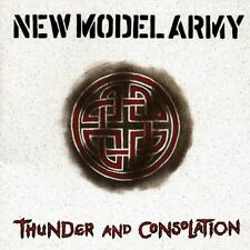 CD Album New Model Army : Thunder and Consolation (Mini LP Style Card Case) *NEW
