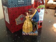 "disney tradition 'beauty and the beast couple' 6.5"" boxed"