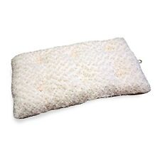 PAW Lavish Cushion Pillow Furry Pet Bed - Latte - 14 x 20 Inches Dog Bed
