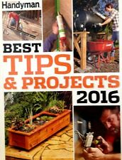 The Family Handyman Best Tips & Projects 2016 new hardcover book Home Repairs