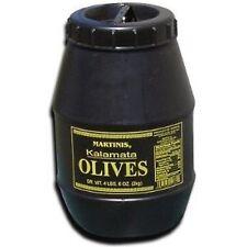 MARTINIS GREEK KALAMATA PITTED OLIVES (LARGE) 4 LBS 6OZ KEG, GREECE