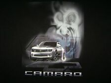 Chevrolet Chevy Camaro XL t shirt smoke ghost muscle car