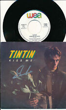 "TINTIN STEPHEN DUFFY 45 TOURS 7"" BELGIUM KISS ME (ELECTRONIC SYNTH-POP)"