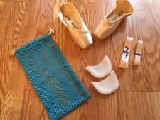 Bloch Or Merlet pointe shoes YOU PICK! + ribbon/elastic,gel pads&mesh bag!