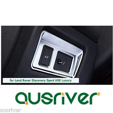 Chrome Car Rear Tailgate Button Switch Trim Frame for Land Rover Discovery Sport