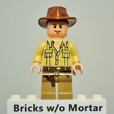 New Genuine LEGO Indiana Jones Minifig Indiana Jones 7195