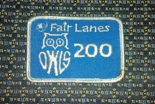 FAIR LANES OWLS 200 BOWLING Iron or Sew-On Patch