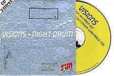 VISIONS - NIGHT DRUM - CD 2 TITRES - LISTEN - ECOUTEZ UN EXTRAIT