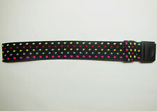 Replacement for Swatch Polka Dot Fabric Strap Watch Band Plastic 31mm Military