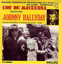 ☆ CD Single Johnny HALLYDAY Quincy JONES Soundtrack L'or de Mackenna  NEW SEALED