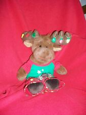 "Build a bear Reindeer  boy with clothes does not light up  20"" retired"
