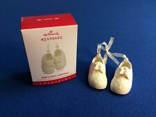 Baby's First Christmas (shoes) - 2016 Hallmark Keepsake ornament in original box