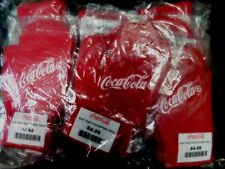 12 PAIRS-COCA-COLA MAGIC STRETCHY GLOVES SIZE SMALL 95% ACRYLIC 5% ELASTANE NEW