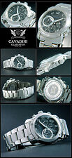 GLADIATOR FROM THE HOME CAVADINI CHRONOGRAPH WATCH SPORTY &
