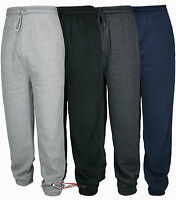 MENS FLEECE JOGGERS JOGGING TRACKSUIT TROUSER BOTTOMS PANTS size M-L-XL-XXL