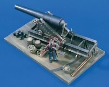 Verlinden 54mm (1/32) Union 100-Pounder Parrott Rifle with Figure Civil War 1601
