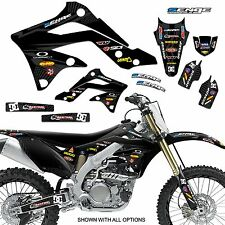 2009 2010 2011 2012 KXF 250 GRAPHICS KIT KAWASAKI KX250F KX F 250F DECO DECALS