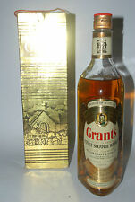 WHISKY GRANT´S FINEST SCOTCH WHISKY WILLIAM GRANT & SONS AÑOS 70 IN BOX 75cl