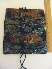 Vintage Navy 3 Pocket Packing Travel Luggage Organizer Storage Bags Jewelry