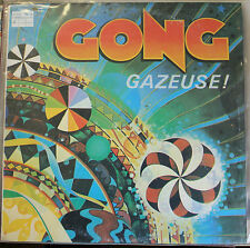 Gong ‎| Gazeuse! | Virgin | V2074 | no Poster | washed Vinyl EX