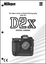 Nikon D2X User Manual Guide Instruction Operator Manual