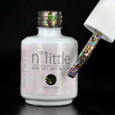 15ml n.1ittle Nail Art Soak Off Glitter Color UV LED Gel Polish UV Lamp #068