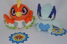 2009 Pokemon Center Original Pokedoll Ho-oh & Lugia Plush New with Tag