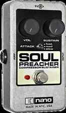 EHX Electro Harmonix SOUL PREACHER Compressor / Sustainer Guitar Effects Pedal