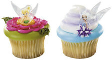 Disney Fairies Cake Cupcake Rings Favors featuring Tinkerbell and Periwinkle