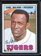 1967   Topps   Baseball   # 305   Earl Wilson      NM     Near Mint