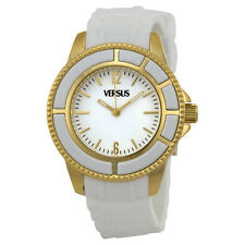 Versus by Versace Tokyo White Dial White Rubber Ladies Watch AL13SBQ701A001