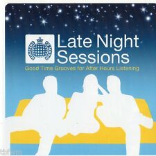 Late Night Sessions - 2CD MIXED - CHILL OUT LOUNGE DOWNTEMPO TRIP HOP MINIMAL