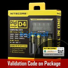 NEW 2016 VERSION NITECORE D4 Digi charger For 18650 14500 18350  Li-ion & Ni-MH