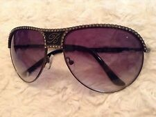 Blumarine Black Diamante Sunglasses Designer Brand New Never Used 100% Authentic