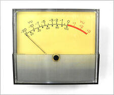 "Vintage Weston 2042 4.5"" x 4"" AC/DC VU Meter #1 w/Cal Resistor, Works Great. VU"