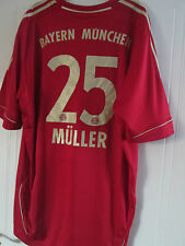 Bayern Munich 2011-2013 Muiller Home Football Shirt Size xxl /39325