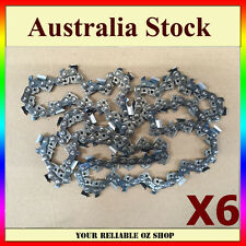 6x 18'' INCH BAR CHAINSAW CHAIN 325 Pitch 72 LINK 058 REPLACEMENT SAW SPARE PART