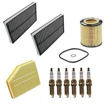 BMW E60 525i 530i 2006 Tune Up Kit Air Cabin Oil Filters Spark Plugs