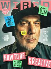 WIRED MAGAZINE (UK) October 2014 RON ARAD Britain's New Design Stars @NEW@