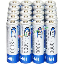 20x AA battery batteries Bulk Nickel Hydride Rechargeable NI-MH 3000mAh 1.2V BTY
