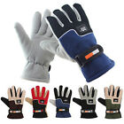 Men Winter Warm Sports Windproof Waterproof -30℃ Ski Gloves Motorcycle Snowboard