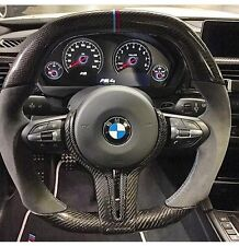 BMW F8x M3 OEM CF Steering Wheel Thicker Grip Carbon Fiber M-color