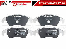 FOR FORD FOCUS 2.5 RS 09- FRONT BREMBO SPORTS PERFORMANCE BRAKE PADS 07.B314.05